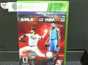 MLB 2K13/NBA 2K13 Combo Pack (Microsoft Xbox 360, 2013) RARE!